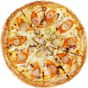 Супер Чизбургер-пицца