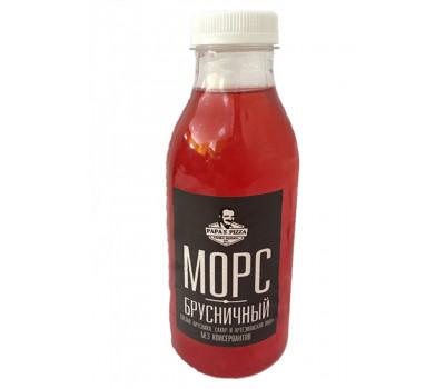 Морс Брусничный 0,5 литра